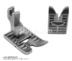 Roller foot for zigzag max 12mm