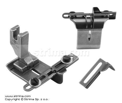 G10-NF-CRL - Needle feed foot with tape guides and left and right gauges