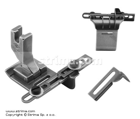 G10-652-CRL - Foot for zigzag max 9mm with tape guides and left and right gauges