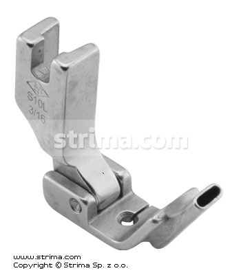 P3316L3/16 [S10L 3/16] - Foot with left tape guide 4.8mm