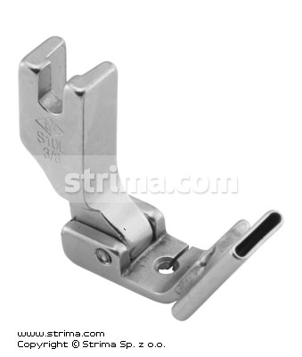 P338L3/8 [S10L 3/8] - Foot with left tape guide 9.5mm