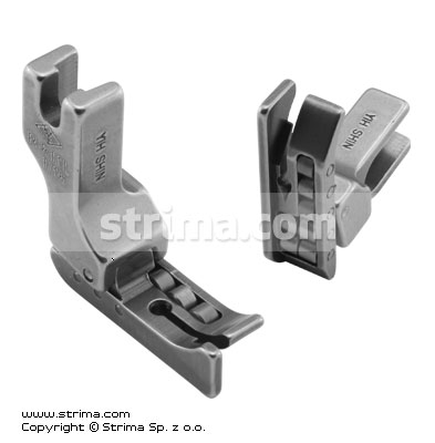 Roller foot with left guide 1.6mm