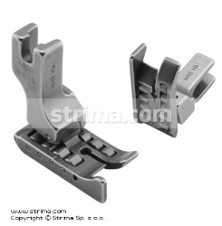Roller foot with left guide 6.4mm