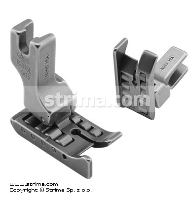 Roller foot with left guide 8.0mm