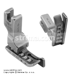 Roller foot with right guide 0.8mm