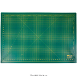 Self-healing cutting mat 90x60 cm, thickness 3 mm, green - DW-12121 GREEN