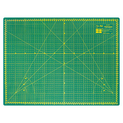 Self-healing cutting mat 60x45 cm, thickness 3 mm, green - DW-12122 GREEN