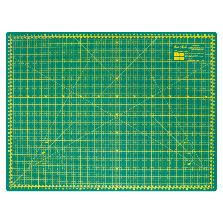 Self-healing cutting mat 60x45 cm, thickness 3 mm, green