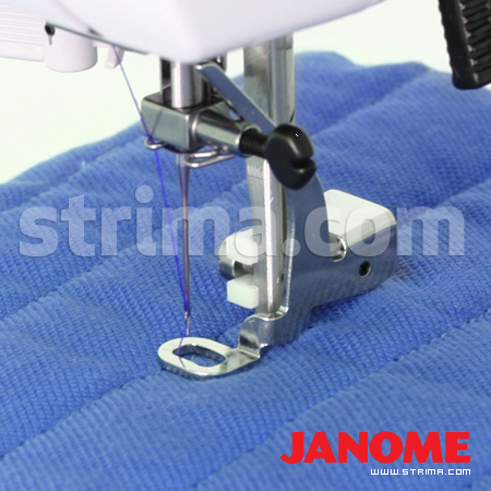 Quilting foot (for machines with shuttle hook)
