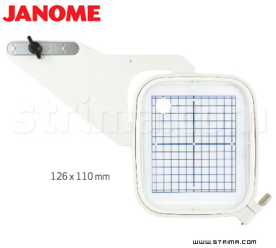 HOOP ST JANOME - Hoop 126x110 mm for Janome MC 11000