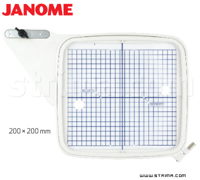 HOOP SQ JANOME - Hoop 200x200 mm for JANOME MC 11000