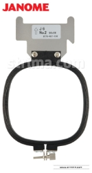 Hoop for JANOME MB-4 (66x66 mm) - HOOP J6A JANOME