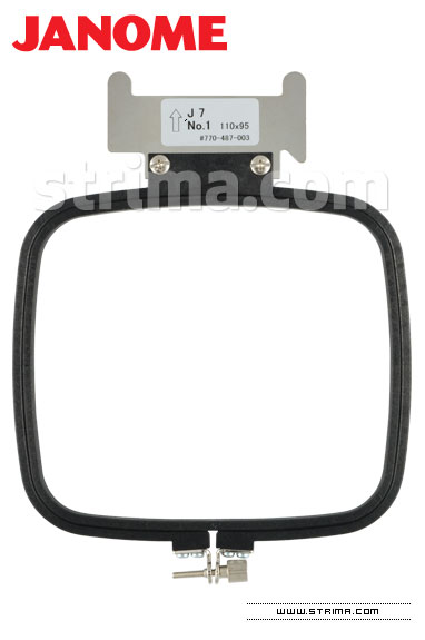 HOOP J7 JANOME - Hoop for JANOME MB-4 (110x95 mm)