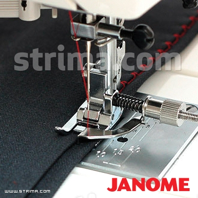 Blind hem foot (for machines with shuttle hook)
