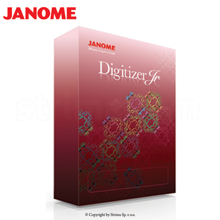 Embroidery Design Software Janome Digitizer Jr V4 5
