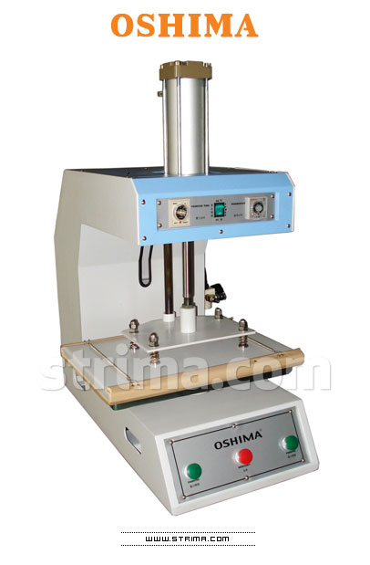 OP-380A OSHIMA - OSHIMA fusing press machine for transfers, work surface 38x38 mm