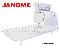 Extension table for JANOME MyStyle 100, DC3030, DC4030, DC4100, MC5200