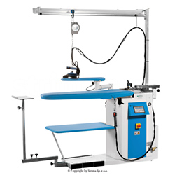 Ironing table with steam generator - BATTISTELLA ANDROMEDA MAX VAP WITH LIGHT