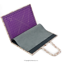 Portable quilting accessories set with ironing board 31x47 cm