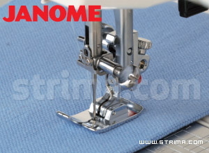 200331009 JANOME - Straight stitch foot (for machines with horizontal rotary hook)
