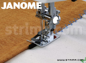 200341002 JANOME - Ditch quilting foot (for machines with horizontal rotary hook)