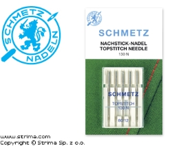 SCHMETZ needles for household machines 130 N VES, 5pcs 5x100