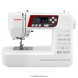 Computerized sewing machine - JANOME QXL605