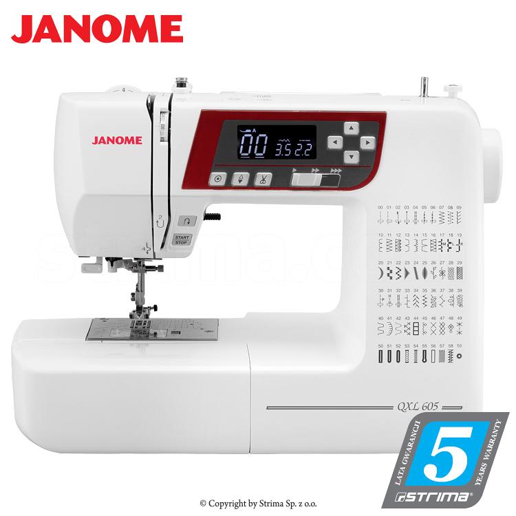 Computerized Sewing Machine Janome Qxl605