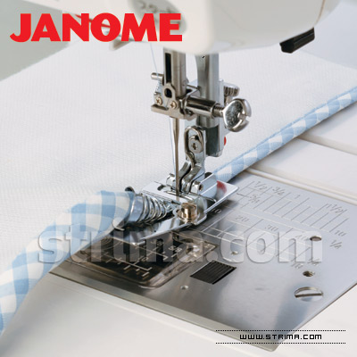 200313005 JANOME - Binder foot (for machines with horizontal rotary hook)