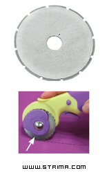DW-RB001S - Rotary cutter blade 45 mm, skip