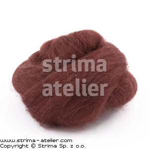 28M P-2721 - Worsted wool 28 microns - ginger