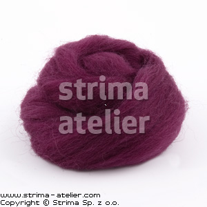 Worsted wool 28 microns - heather