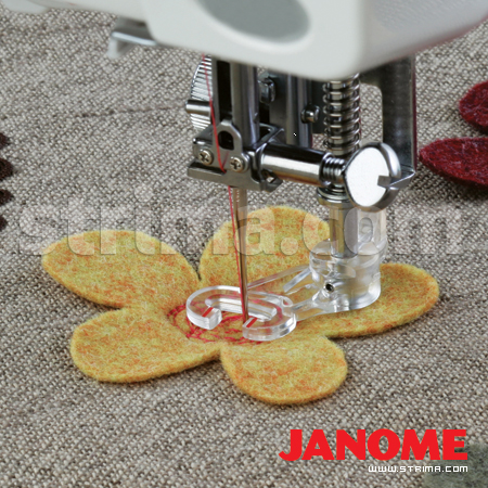 200349000 JANOME - Quilting foot (for with horizontal rotary hook)