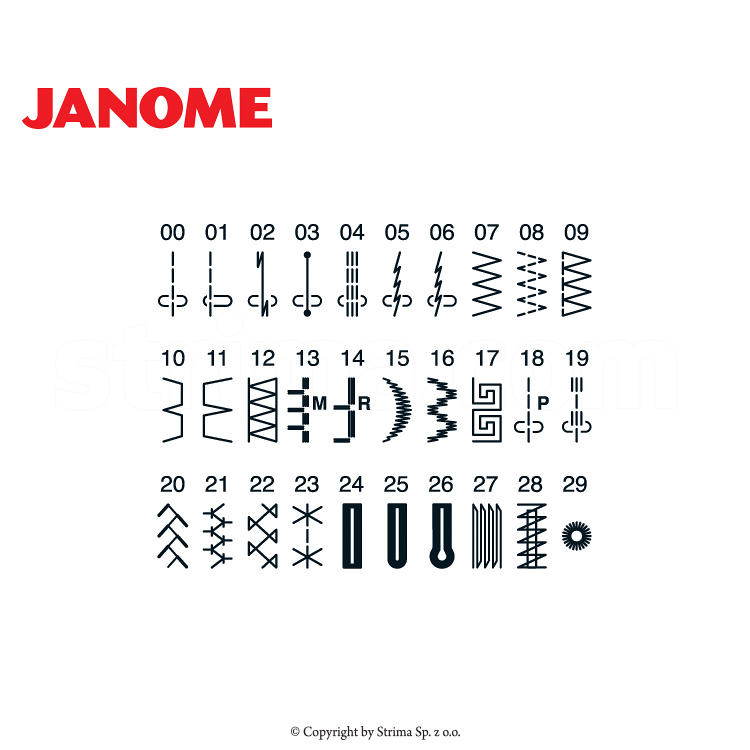 JANOME XL601 - Computerized sewing machine