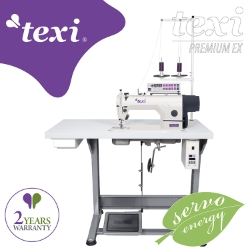 Automatic lockstitch machine with built-in AC Servo motor - complete sewing machine with 2 years warranty