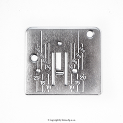 Needle plate for Janome JR1012