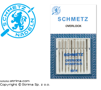 SY 2054 XDS 90 - SCHMETZ needles for Singer household machines SY 2054, 10 pcs. 10x90