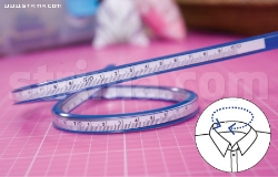 Design flexible curve ruler, 60 cm vinyl