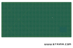 Self-healing cutting mat 150x100 cm, thickness 3 mm - DW-111213