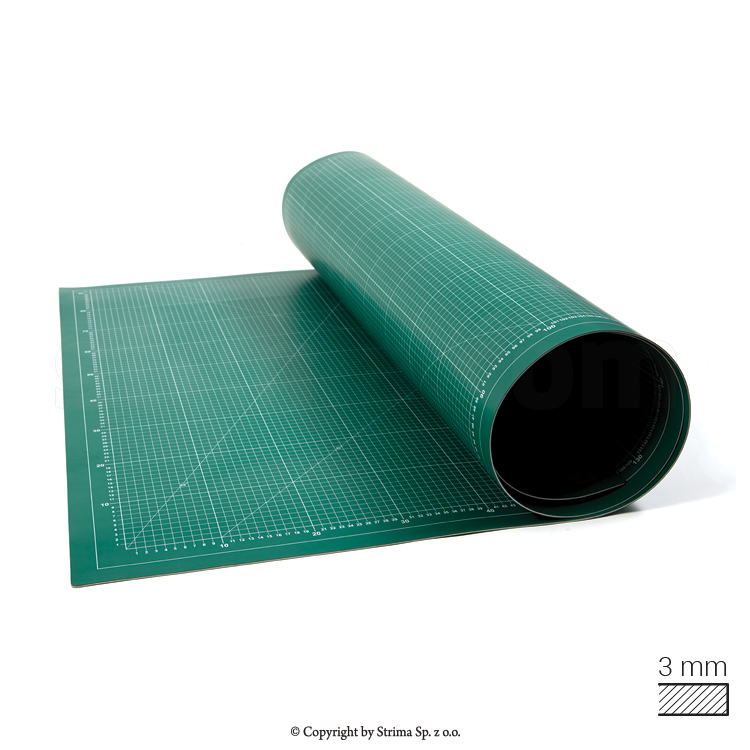 DW-111214 - Self-healing cutting mat 100x200 cm, thickness 3 mm
