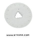 DW-RB001SC - Rotary cutter blade 45mm, scoring