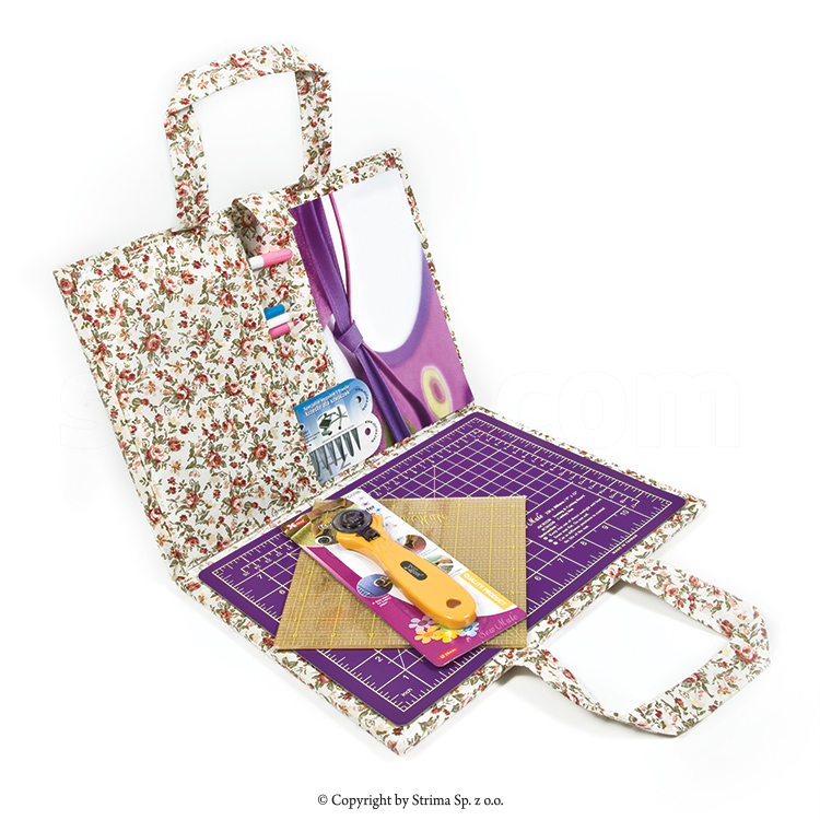 Portable quilting kit, small, 24x32 cm