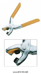 2-in-1 eyelet and snap plier, eyelet diam. 4 mm - NS-64-10