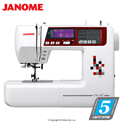 Computerized sewing machine - JANOME TXL607
