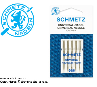 SCHMETZ universal needles 130/705H, 5pcs. 5x60