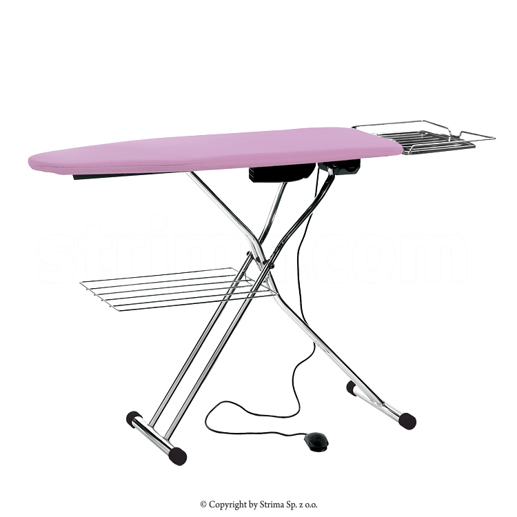 TEXI CHAMPION S - Ironing table board type 120x45cm, with suction and heated surface