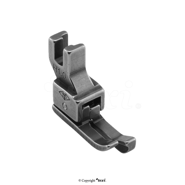 TEXI 0001 - Compensating foot for household machine, right 1.0 mm