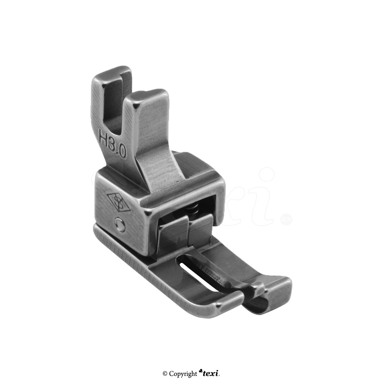 Compensating foot for household machine, right 3.0 mm