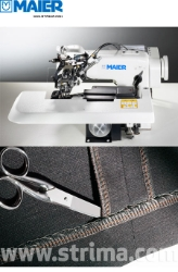 MAIER blind stitch machine with energy-saving AC Servo TP550 motor - complete sewing machine - 251 SERVO SET