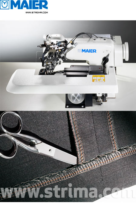 251 SERVO SET - MAIER blind stitch machine with energy-saving AC Servo TP550 motor - complete sewing machine